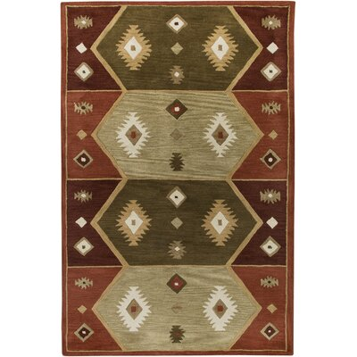 Southwest Hopi Red Rug