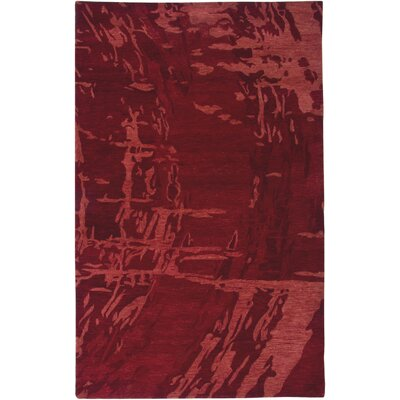 Rizzy Rugs Highland Red Abstract Rug