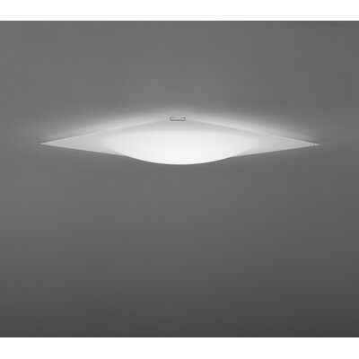 Vibia Quadra Ice Flat Fixture / Flush Mount Wall Scone