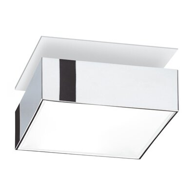 Vibia Basiko - Square Semi Flush Mount