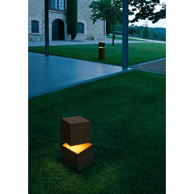 "Vibia Break 32"" Outdoor Light in Oxide Lacquer"