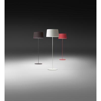 Vibia Warm Floor Lamp with Aluminum Shade