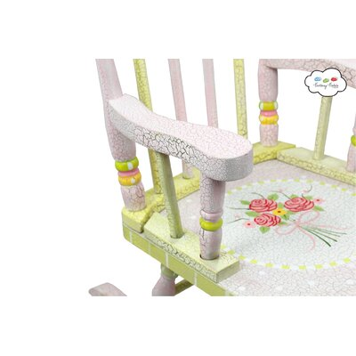 Fantasy Fields Fantasy Fields - Crackled Rose Rocking Chair