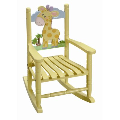 Fantasy Fields Fantasy Fields - Safari Rocking Chair - Giraffe