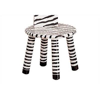Fantasy Fields Fantasy Fields - Safari Stool with Coat Rack - Zebra