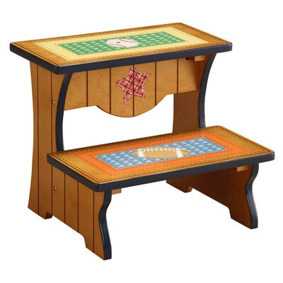 Fantasy Fields Fantasy Fields - Lil' Sports Fan Step Stool