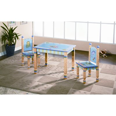 Fantasy Fields Kids 3 Piece Table and Chair Set