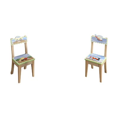 Fantasy Fields Transportation Kid's Desk Chair (Set of 2)