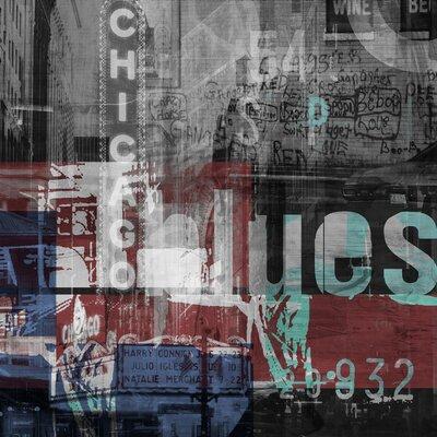Chicago Style 1 Graphic Art Plaque