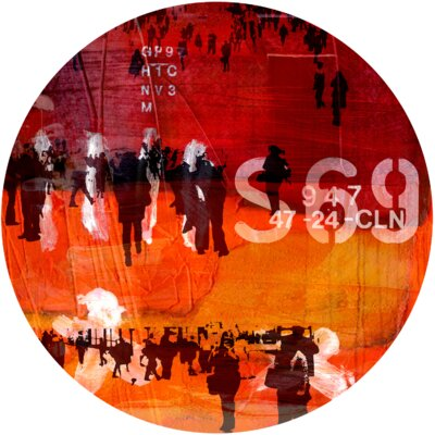 Hustle and Bustle 1 Graphic Art