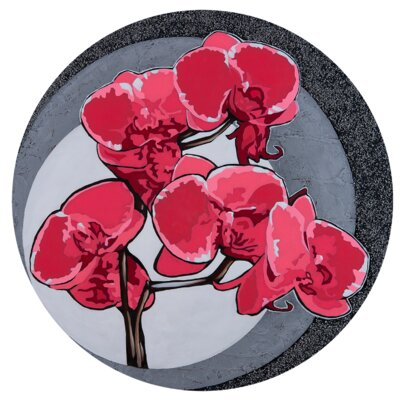 Hot Orchids 2 Graphic Art