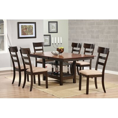 Wildon Home ® 7 Piece Butterfly Leaf Dining Set