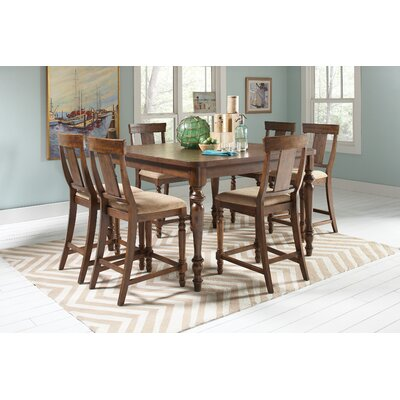 Wildon Home ® 7 Piece Counter Height Dining Set