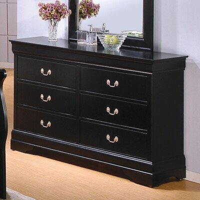 Wildon Home ® Thatcher 6 Drawer Dresser