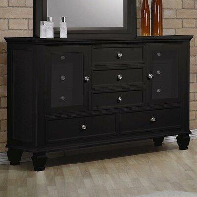 Wildon Home ® Sankaty 5 Drawer Combo Dresser