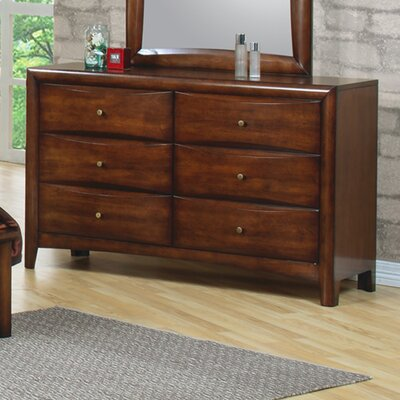 Wildon Home ® Scottsdale 6 Drawer Dresser