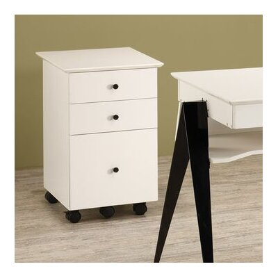 Wildon Home ® Lori 3-Drawer Mobile Cart