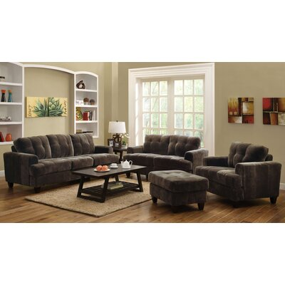 Wildon Home ® Buxton Living Room Collection