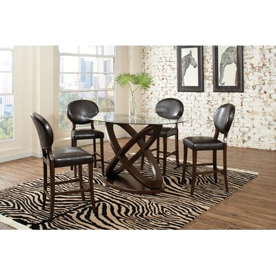 Wildon Home ® Daniella 5 Piece Counter Height Dining Set