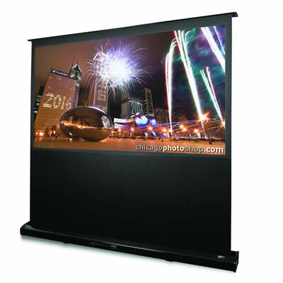 "Elite Screens Kestrel Matte White 72"" Electric Projection Screen"