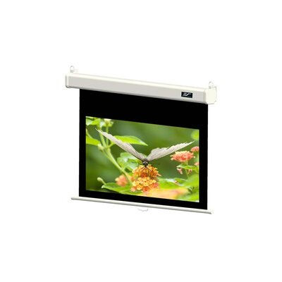 "Elite Screens Premium Manual Pull Down Screen with SRM - 16:9 Format 84"" Diagonal"