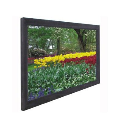 "Elite Screens CineWhite ezFrame Series Fixed Frame Screen - 100"" Diagonal"