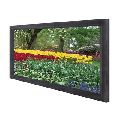 "Elite Screens CineGray Cinema235 Series Fixed Frame Wide Screen - 85"" Diagonal"