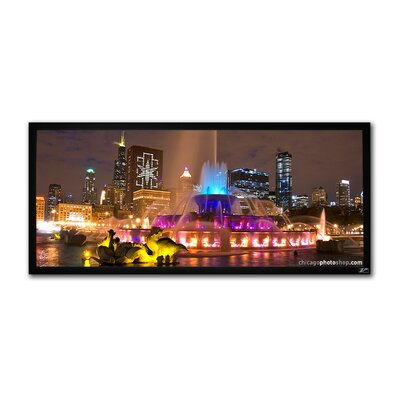 Elite Screens Cinema235 Wall Mount Fixed Frame Projection Screen