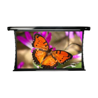 "Elite Screens CineTension2 Electric Tension Rear 135"" 4:3 AR Projection Screen in Black Case"