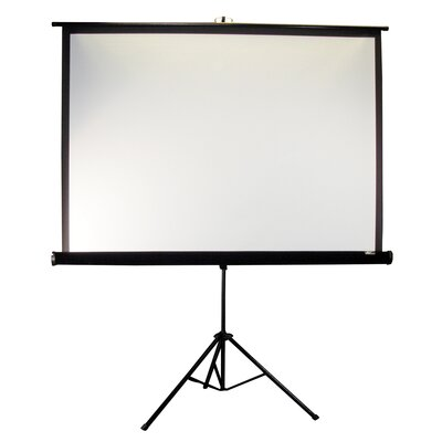 "Elite Screens Tripod Series MaxWhite 92"" Diagonal Portable Projection Screen"