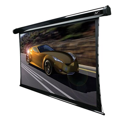 Elite Screens Ceiling/Wall Mount Electric Tensioned Projection Screen