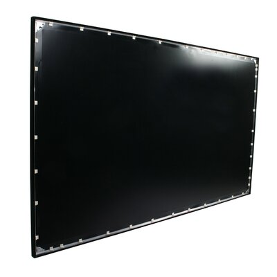 "Elite Screens ezFrame Fixed Frame Rear 144"" Projection Screen"