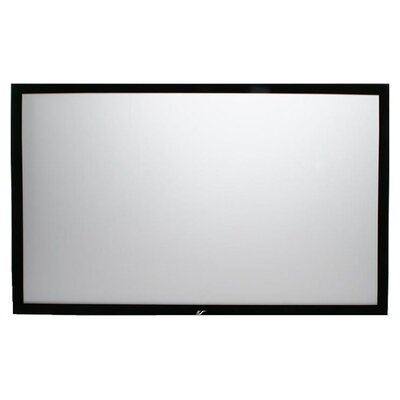 "Elite Screens ezFrame Fixed Frame AT 165"" Projection Screen in Black Velvet"