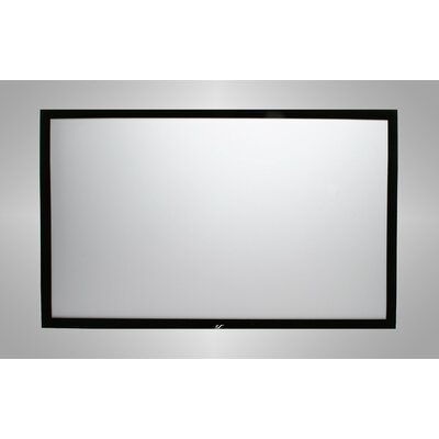 Elite Screens ezFrame Series Matt White Fixed Frame Projection Screen