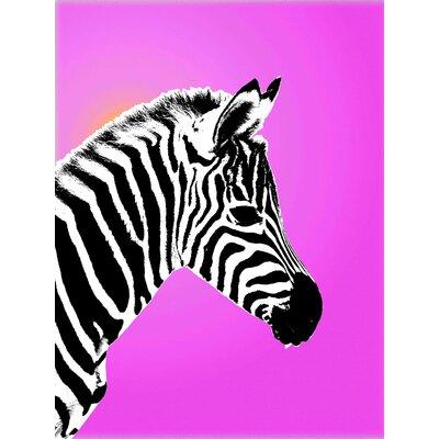 Gleaming Zebra Graphic Art