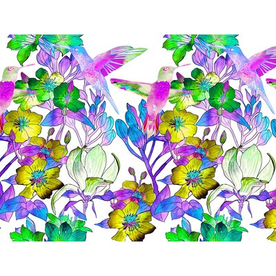 Tiger Lilly Graphic Art in White