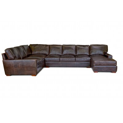 Backman Leather Sectional