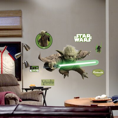 Fathead Yoda Wall Graphic