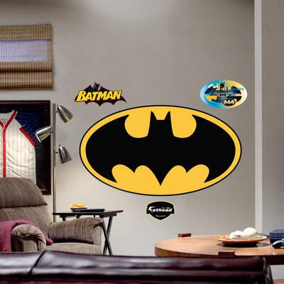 Fathead Batman Logo Wall Graphic