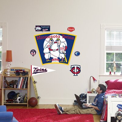 Fathead MLB Logo Wall Graphic