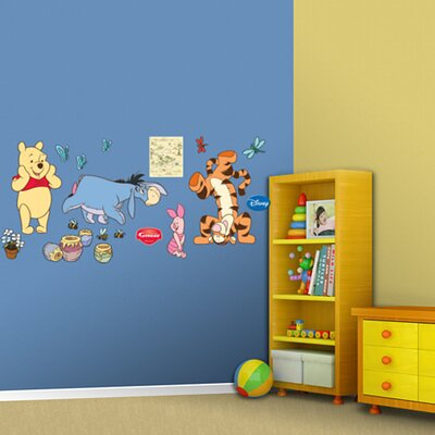 Fathead Winnie the Pooh and Friends Wall Graphic
