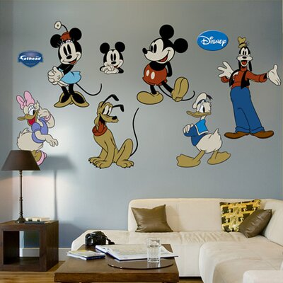 Fathead Classic Mickey Mouse & Friends Wall Decal