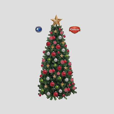 Fathead Christmas Tree Wall Graphic