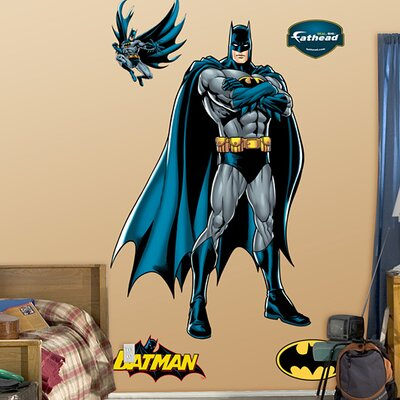 Fathead Batman Justice League Wall Decal
