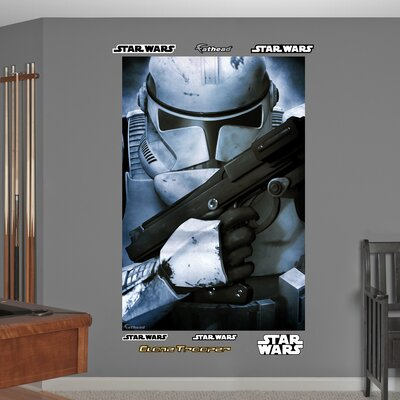 Star Wars Stormtrooper Closeup Wall Mural