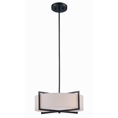 Lite Source 3 Light Drum Pendant