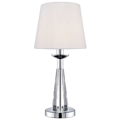 """Lite Source Tayden 15.5"""" H Table Lamp with Empire Shade"""