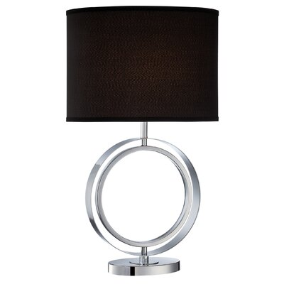 "Lite Source Cosima 27.5"" H Table Lamp with Drum Shade"