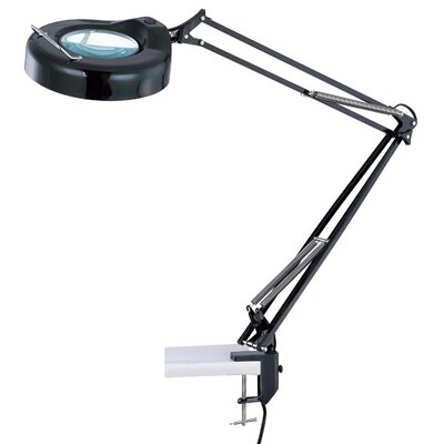 "Lite Source Magnify-Lite 40.5"" H Magnifier Table Lamp with Clamp"