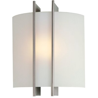Lite Source Checks Linear 1 Light Wall Sconce